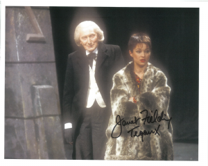 "Janet Fielding ""Tegan"" (Doctor Who) genuine signed autograph 10 x8, 10486"